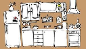 clipart kitchen